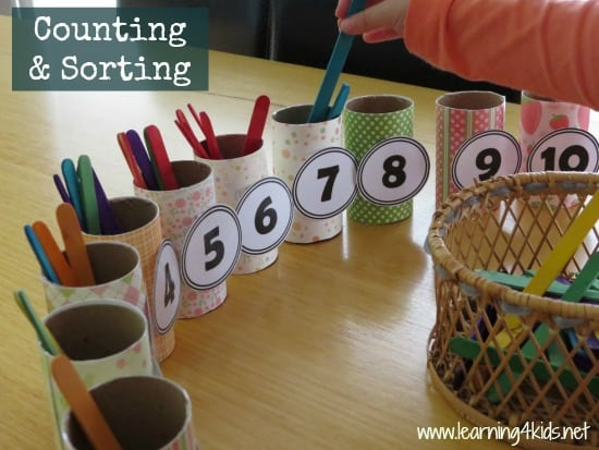 Numbers Amp Counting Activity Learning 4 Kids