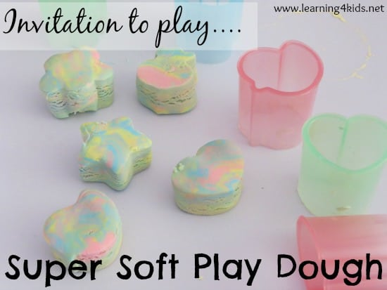 Play dough with conditioner