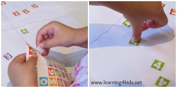 Learning Numbers Activities