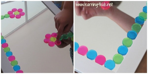 Lets Play Mirror and Colours - Learning4kids