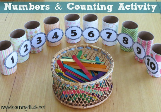 Numbers and Counting Activity - learning4kids