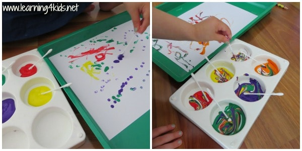 Name Activities Dot Painting Learning 4 Kids