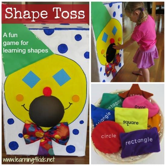 Shape Games for Kids - Learning4kids