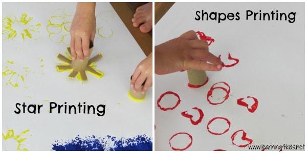 Stars and Shapes Printing