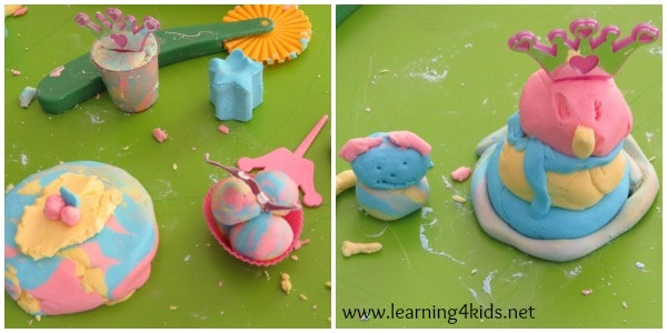 lets learn - super soft play dough