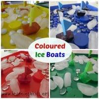 Coloured-Ice-Boats