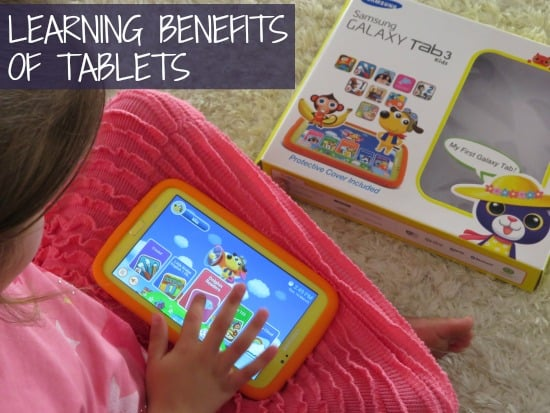 Learning Benefits of Tablet