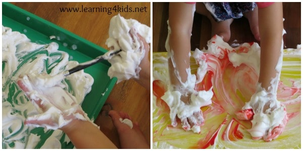 Let's Play - Shaving Cream