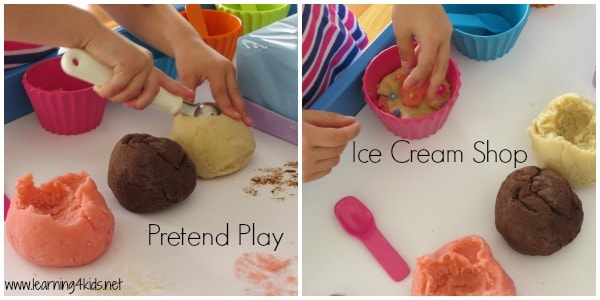 Let's play and pretend ice cream shop