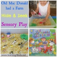 Old Mac Donald had a Farm Activity for kids and toddlers
