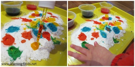 Science Experiements Ideas for toddlers and kids