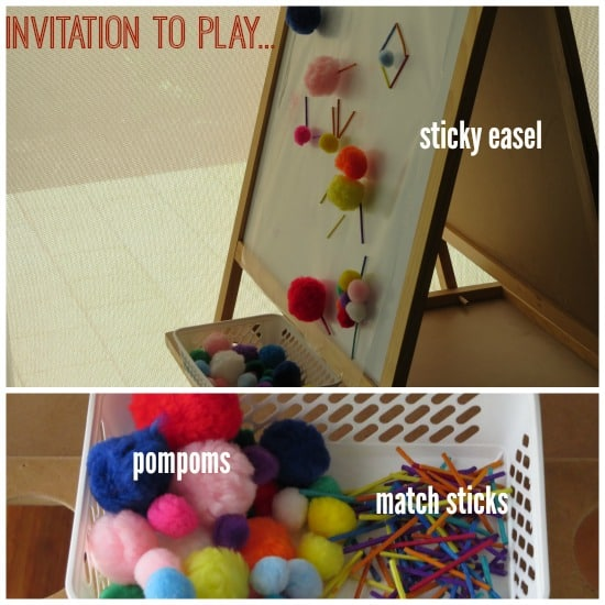 Sticky Easel play prompt