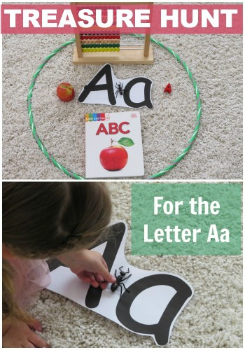 Treasure Hunt for the Letter Aa