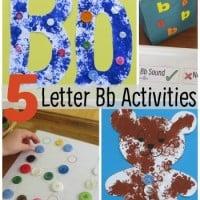 5 Letter Bb Activities