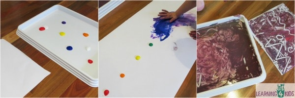 Finger Painting Ideas For Kids
