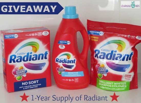 Giveaway Radiant Return
