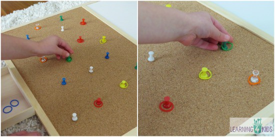 Simple to set up Fine Motor Activity Ideas