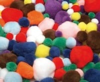 Pom Poms Pack of 300