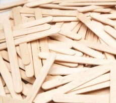 Plain Craft Sticks Pack of 1000