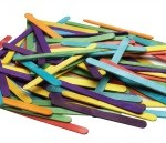 Coloured Craft Sticks