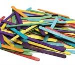 Coloured Craft Sticks