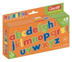Quercetti Magnetic Lowercase Letters