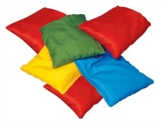 Small Bean Bags Measures 12cm X 12cm Learning 4 Kids