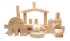 Buy natural wooden block sets online