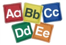 Buy Alphabet Bean Bags Online