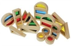 Rainbow Blocks Set of 24
