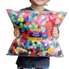 Bag of Pom Poms 450g