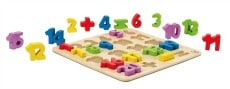 Buy wooden number puzzles online