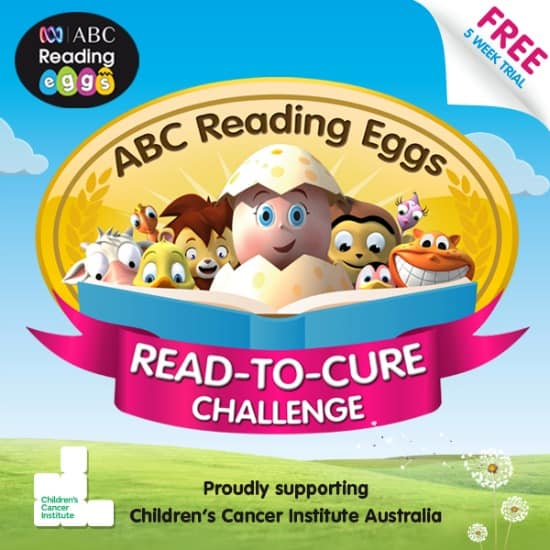 Abc Reading Eggs Read To Cure Challenge Learning 4 Kids