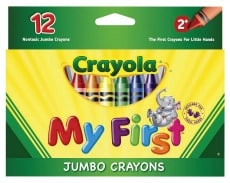 Crayola My First Jumbo Crayons Pack of 12