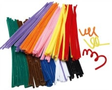 Chenille Stems Pack of 200