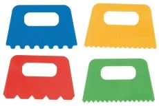 Paint Scrapers Pack of 4