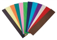 Crepe Paper Set of 12 Special Offer