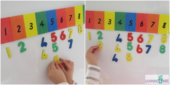 Counting and Sorting Number Activity