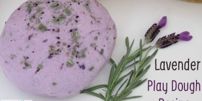 Lavender Scented Play Dough Recipe