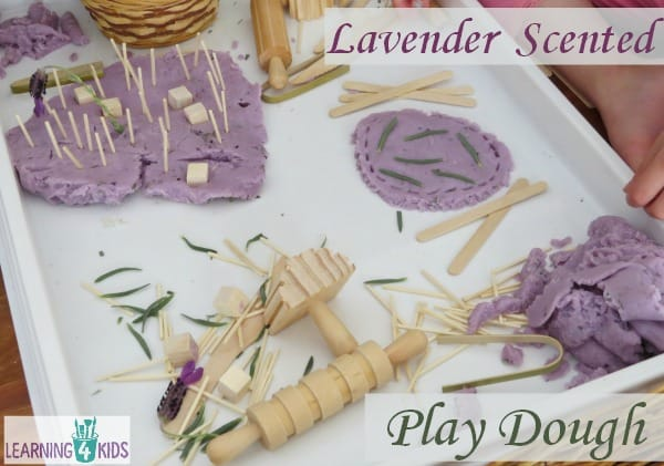 Lavender Scented Play Dough