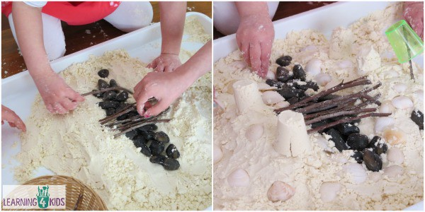 Learning Benefits of cloud dough