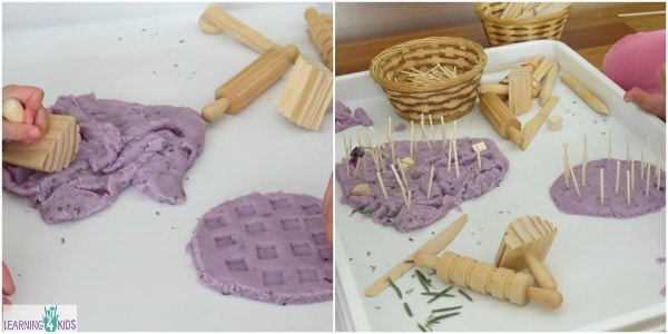 Lets play Lavender scented play dough