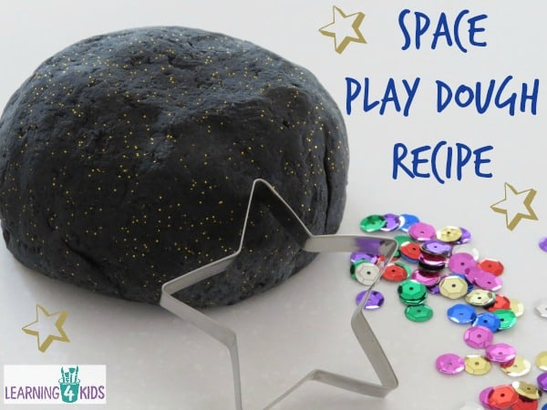 Space Play Dough Recipe | Learning 4 Kids