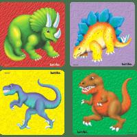 Dinosaur Tray Puzzles Set of 4