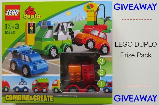 Giveaway Lego Duplo Prize Pack