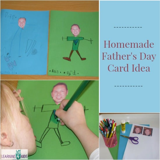 Homemade Father's Day Card Idea