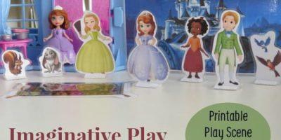 Imaginative Play Scene Disney Junior