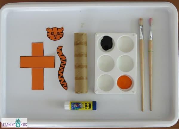 Letter T Crafts for kids