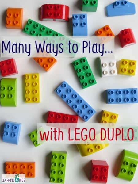 Many ways to play with Lego Duplo