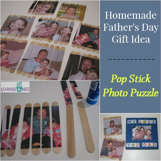 Pop Stick Photo Puzzle